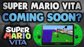 Super Mario Vita Homebrew Game? Coming Soon?