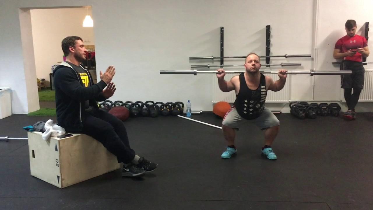Klokov - back squat 1 - YouTube