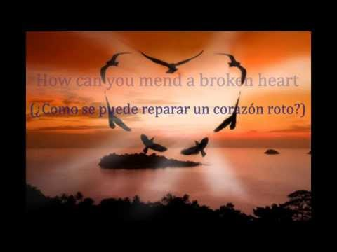 How Can You Mend Broken Heart Sub Ulado Al Espanol Bee Gees