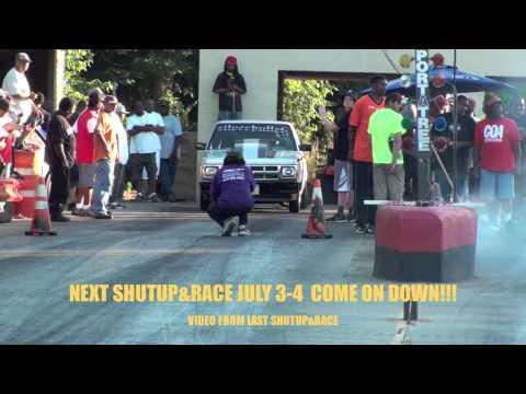 $15,000 RACE SILVER BULLET vs RED MUSTANG AT MANDRELL SHUTUP&RACE
