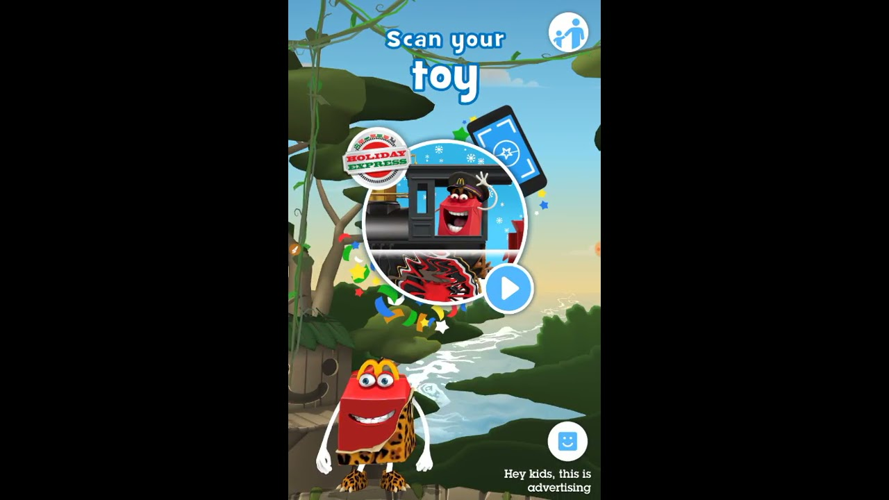 how to scan your toy on mcplay