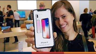 PROBANDO EL IPHONE X!!