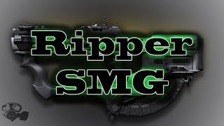 COD Ghosts Ps4 Gameplay - The Ripper SMG
