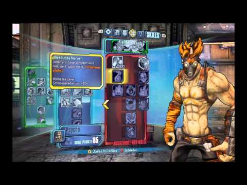 Psycho Blutsplosion/Bloodsplosion Build - BORDERLANDS 2 ... Borderlands 2 Psycho Build