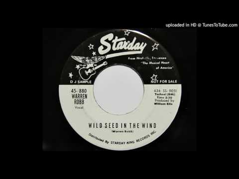 Warren Robb - Wild Seed In The Wind (Starday 880)