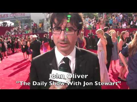 2009 Emmys Red Carpet interviews at Nokia Theatre LA Live - Comedy Category