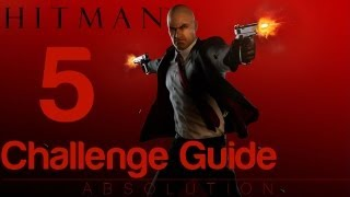 Hitman: Absolution - Challenge Guide Mission 3 - Terminus - The Electrician Part 1 & 2, Inside Job, Chameleon
