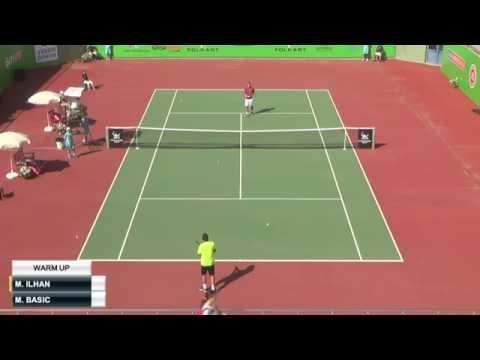 Marsel Ilhan - Mirza Basic (Izmir Cup  2015) Quarterfinal