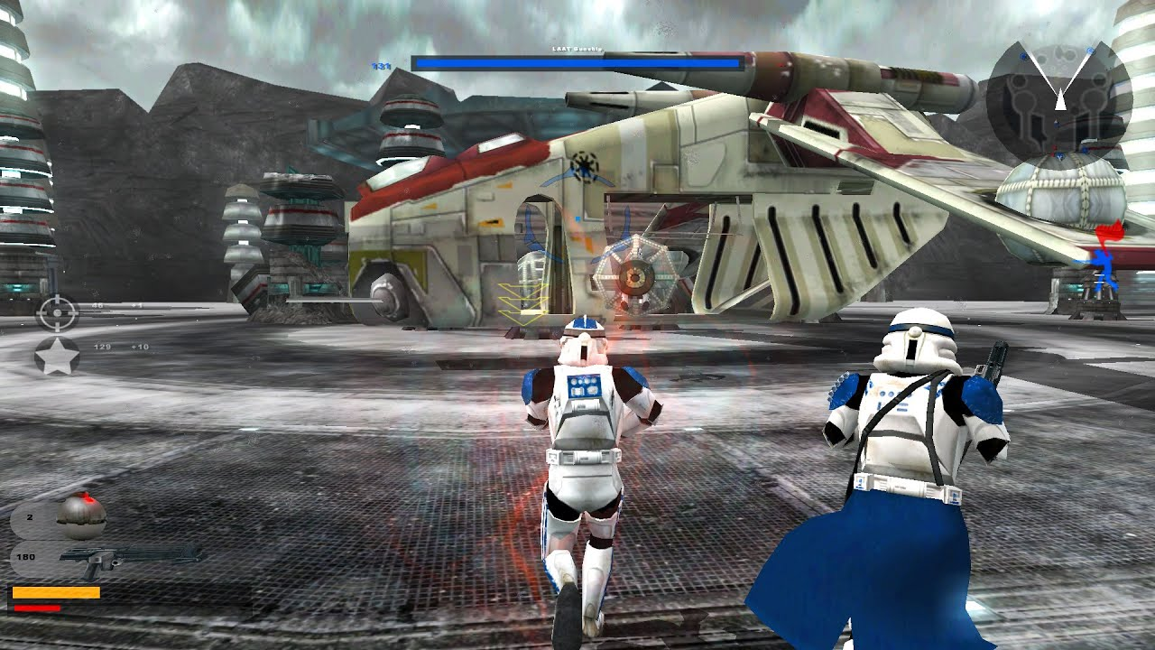Star Wars Battlefront 2 Gameplay 1 Mygeeto Amongst The