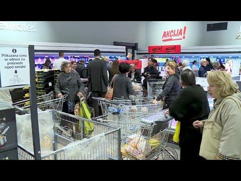 Lidl stigao u Srbiju, velike gužve u prodavnicama