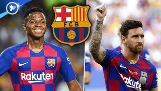 La riposte du Barça pour Lionel Messi et Ansu Fati | Revue de presse