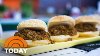 Try Katie Lee's Recipes For Super Bowl: Sloppy Joes With A Side Of Guacamole   TODAY