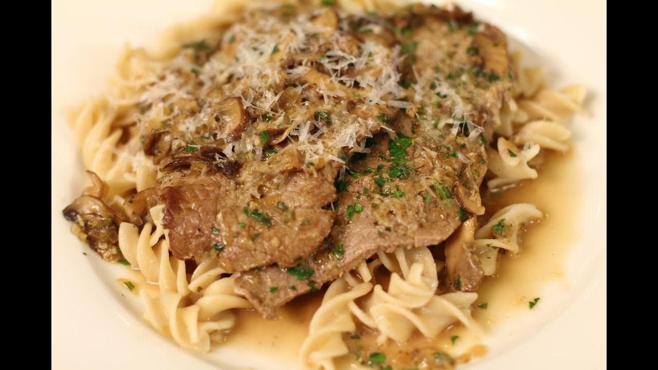 Veal Marsala With Mushrooms Onions Over Pasta By Rockin Robin Youtube,How To Clean A Plastic Bathtub