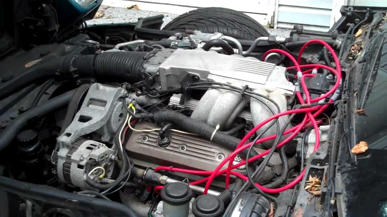 89 CORVETTE bad injector and temporary fix to get the car