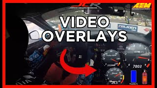 homepage tile video photo for How to Make LIVE VIDEO OVERLAYS On Your Racing Footage