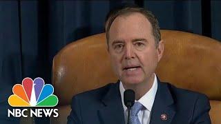 Schiff In Opening Statement: Yovanovitch Was 'Tough On Corruption' In Ukraine | NBC News