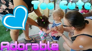 First Time Seeing A Reborn Baby! Reaction! Real Toddler Meets Reborn Toddler! Life Like Dolls!