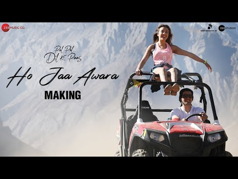 Making of Ho Jaa Awara | Pal Pal Dil Ke Paas | Sunny Deol, Karan Deol & Sahher Bambba