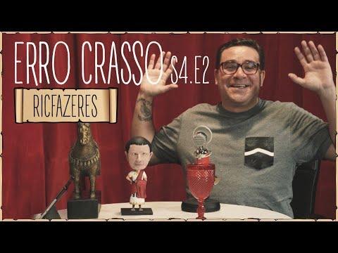 Erro Crasso T4 Ep2 - RICFAZERES fala sobre pinguins, escolhe a sua futura mulher e muito mais.