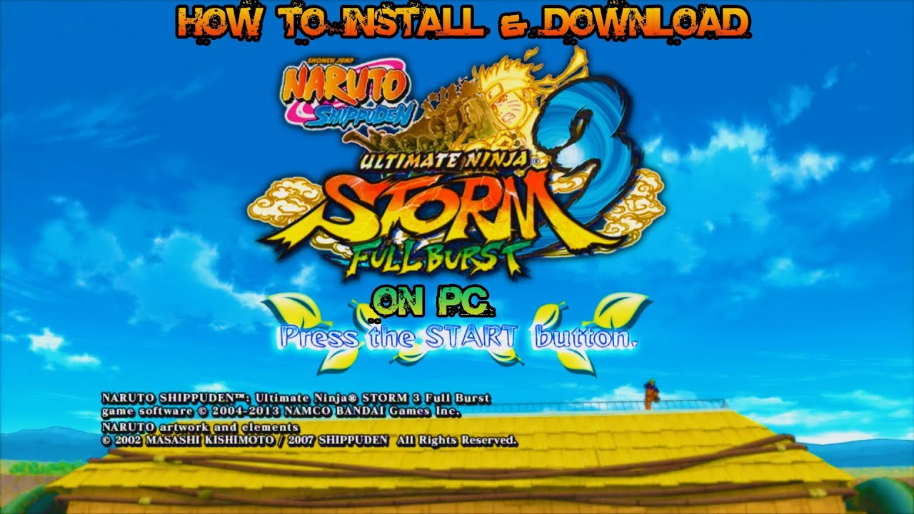 Download Naruto Shippuden Ultimate Ninja Storm 3 - Torrent Game for PC