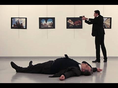Russian ambassador to Turkey assassinated by Turkish policeman