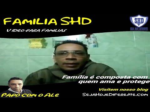 Família é composta com quem ama e protege