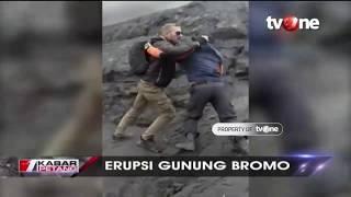 Detik-detik Turis Asing Serang Petugas Saat Dilarang Dekati Gunung Bromo