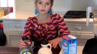 Ellery's Strawberry Banana Blast Smoothie Recipe For Kids