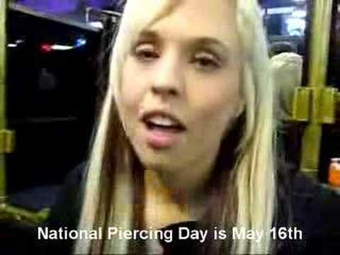 National Piercing Day is May 16th! (Monroe Piercing)