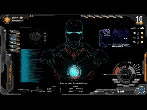 Download How To Install Jarvis Themes Multiple Skins Rainmeter For