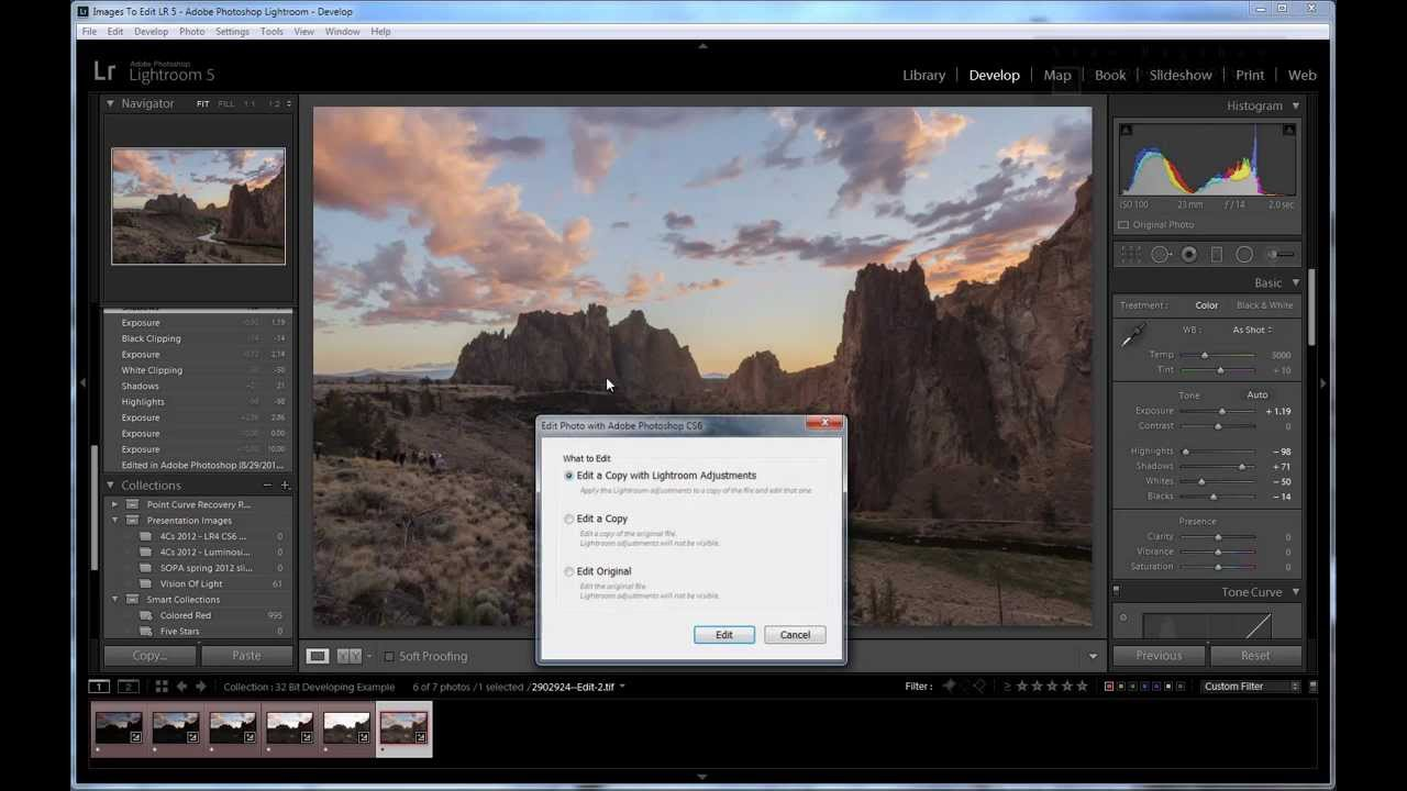 Use Lightroom or Camera Raw to Create Natural 32 bit HDR Images
