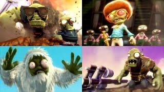 Plants vs. Zombies: Garden Warfare - Full Movie / All Cinematic Cutscenes (2014)   IULITM