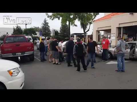 Home Depot Parking Lot Fight