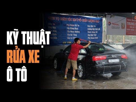 Kỹ thuật rửa xe ô tô