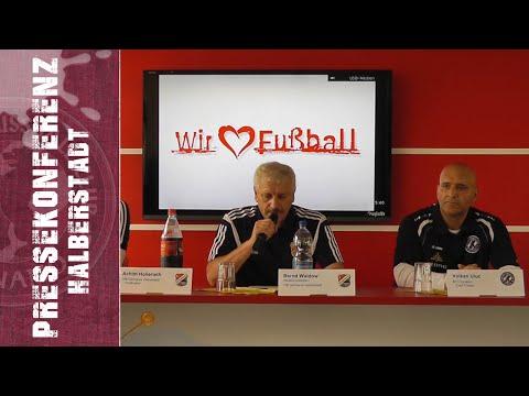 6. Spieltag - Regionalliga Nordost - VfB Germ. Halberstadt - BFC Dynamo 0:3 (0:1) - 14.09.2014 - PK