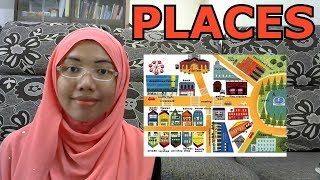 [LEARN MALAY] 103-PLACES