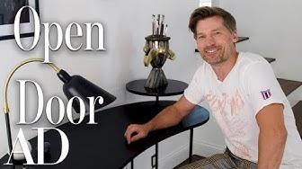 Inside Nikolaj Coster-Waldau's Hidden Los Angeles Home | Open Door | Architectural Digest