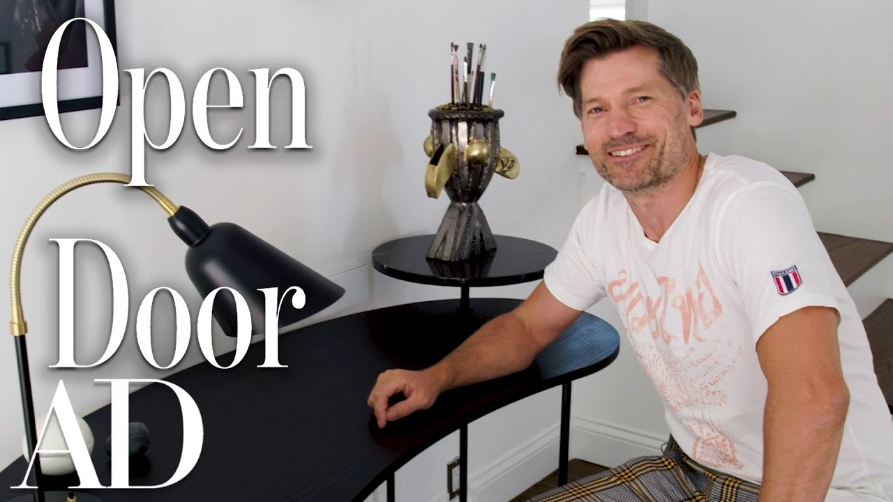 What's Inside Nikolaj Coster-Waldau's Hidden Los Angeles Home?