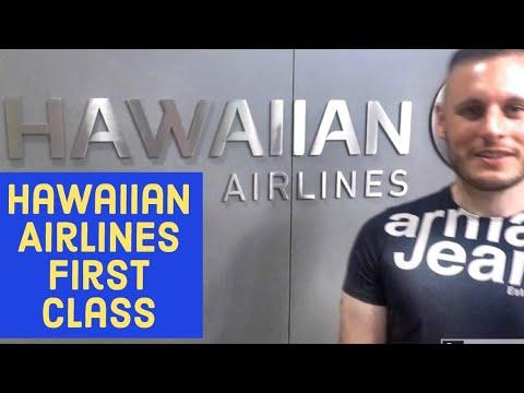 Flight Review: Hawaiian Airlines First Class