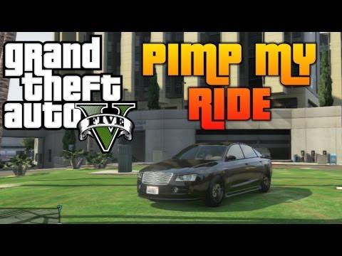 GTA 5 - Pimp My Ride #56   Obey Tailgater (D4 Audi A8) Car Customization!