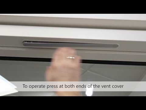 Idealcombi Trickle Vent Operation