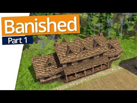 Banished | LETS GET STARTED (#1)