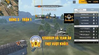 Starboy và team ăn thịt vượt khó - Bảng 3 trận 1 Free Fire Huyền Thoại Sinh Tồn