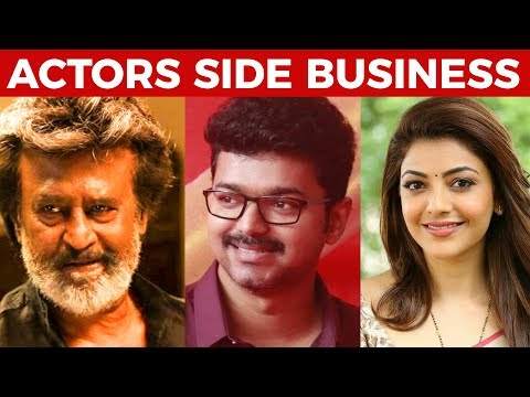 Top Tamil Actors Business Ventures