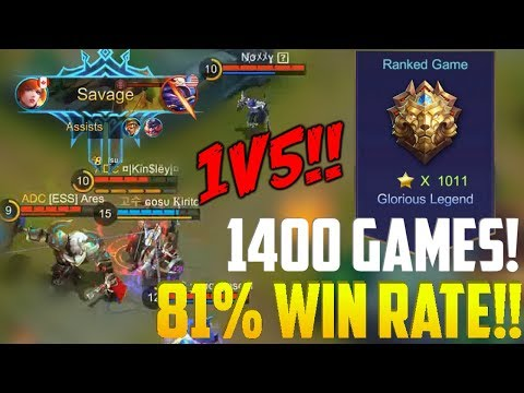 WORLD NO.1 FANNY teaches HOW TO SOLO SAVAGE! | GLORIOUS LEGEND RANKED MOBILE LEGENDS FANNY GAMEPLAY