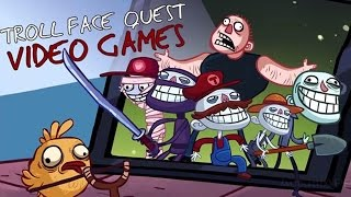 LOS JUEGOS ME TROLLEAN! | TrollFace Quest: Video Games