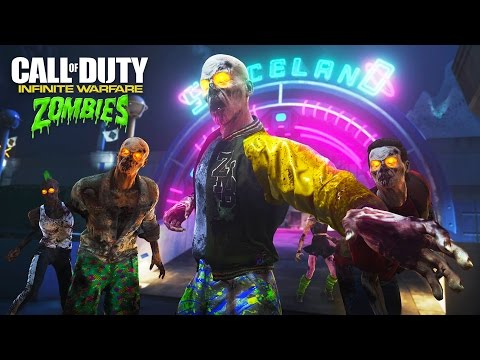 Call of Duty: Infinite Warfare Zombies - Spaceland Zombies Gameplay Walkthrough Part 1! (IW Zombies)