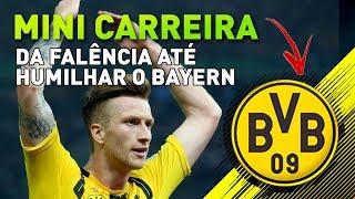 DORTMUND SERÁ MAIOR QUE O BAYERN! 🔶⚫ | Mini Modo Carreira Treinador #1 - FIFA 18 - Dortmund - INÍCIO
