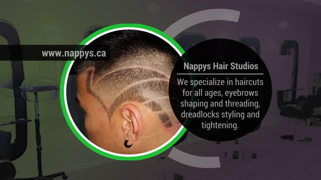 Nappys Hair Studio Scarborough Delon Barber Video Promo