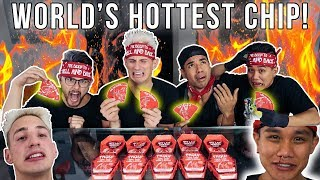 World's Hottest Chip Challenge! I ATE 2.5 OF THEM! (Carolina Reaper)
